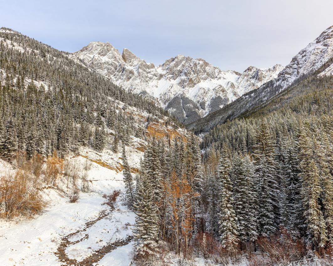 Mount Blaine on Snow  Drew May Photo